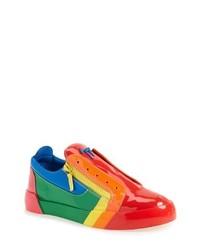Giuseppe Zanotti Patent Low Top Sneaker