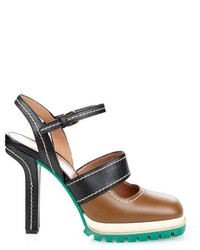 Marni Bi Colour Leather Pumps