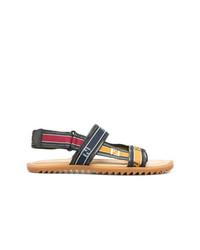 Fendi Logo Band Sandals