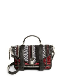 Proenza Schouler Tiny Ps1 Mixed Weave Satchel