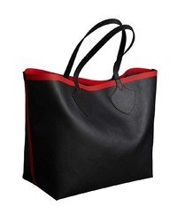 b053630b21 ... Burberry The Giant Reversible Tote In Canvas Check And Leather ...