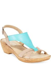 Bella Vita Italian Collection Gubbio Wedge Sandals