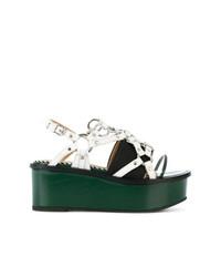 Strappy flatform sandals medium 7341836