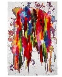 Franco Ferrari Paint Splash Cashmere Silk Scarf