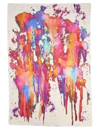 Nobrand Paint Splash Modal Silk Scarf