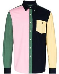 Polo Ralph Lauren Button Down Colour Block Shirt