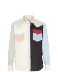Calvin Klein 205W39nyc Colour Block Western Shirt