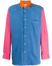 Comme Des Garcons SHIRT Comme Des Garons Shirt Cord Coulour Block Shirt