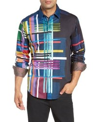Robert Graham Robinson Classic Fit Sport Shirt