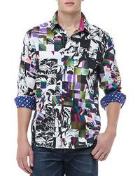 Robert Graham Sir Neil Abstract Print Shirt Multi