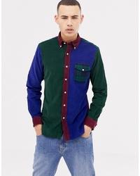 Polo Ralph Lauren Slim Fit Multi Cord Shirt Pocket In Multi
