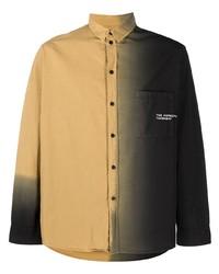 Henrik Vibskov Two Tone Button Up Shirt