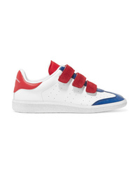 Isabel Marant Beth Med Color Block Leather Sneakers