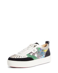 Christian Louboutin Happy Rui Spikes Sneaker