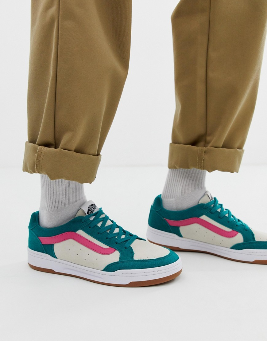 Vans Highland Colour Block Trainers In