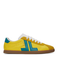 Lanvin Yellow Jl Sneakers