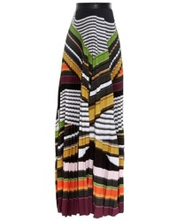 Mary Katrantzou Pelar Striped Maxi Skirt