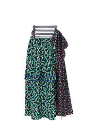 Marni Wrap Ruffle Skirt