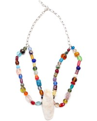Alice And Clara Jane Beaded Oyster Necklace