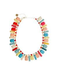 Johnny Loves Rosie Multi Stone Collar Necklace