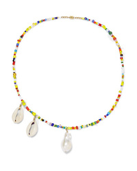 Eliou Paxi Bead Pearl And Shell Necklace