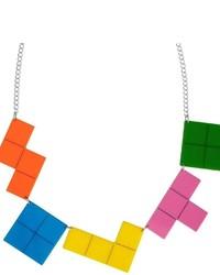 Tatty Devine Tetris Necklace