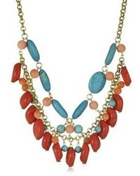 Yochi Colorful Statet Necklace