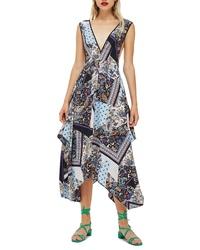 Topshop Pinafore Midi Dress
