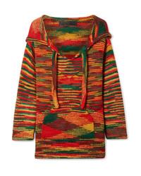 The Elder Statesman Baja Hooded Cashmere Sweater