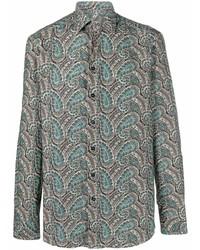 Etro Paisley Print Long Sleeve Shirt