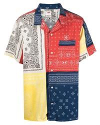 Levi's Cubano Patchwork Paisley Print Shirt