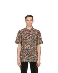 Wood Wood Multicolor Paisley Thor Short Sleeve Shirt