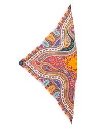 Etro Silk Triangle Scarf