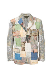 Multi colored Patchwork Blazer