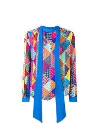 Mary Katrantzou Tied Neck Printed Shirt