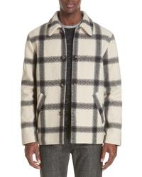 A.P.C. Veste Vancouver Wool Flannel Jacket