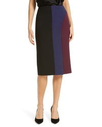 BOSS Velivia Colorblock Pencil Skirt
