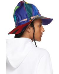 Sacai Multicolor Kaws Edition Colorblocked Mountain Metro Hat