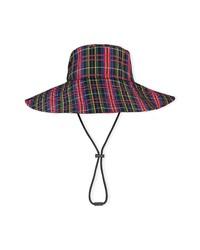 Ganni Plaid Hat