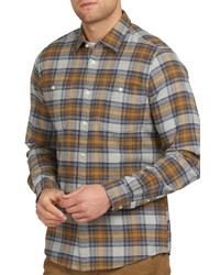 Barbour Abletown Flannel Long Sleeve Button Up Shirt