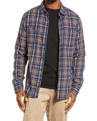 Vans Banfield Iii Flannel Button Up Shirt
