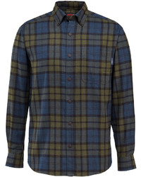 faf52a4f83 Wolverine Drummond Long Sleeve Flannel Shirt Out of stock · Wolverine  Blackwatch Plaid Hammond Flannel Button Up