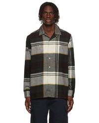 Noah Flannel Plaid Lightweight Shirt