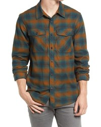 Outdoor Research Sandpoint Plaid Flannel Button Up Shirt