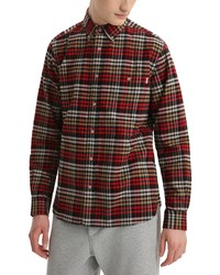 Woolrich Tradition Cotton Flannel Long Sleeve Shirt