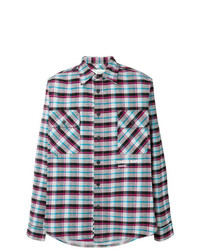 Off-White Check Long Sleeve Shirt