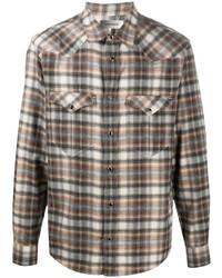 Isabel Marant Pitt Plaid Check Shirt
