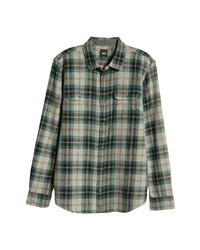 Vans Plaid Button Up Shirt