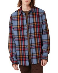 Plaid flannel shirt medium 1157296