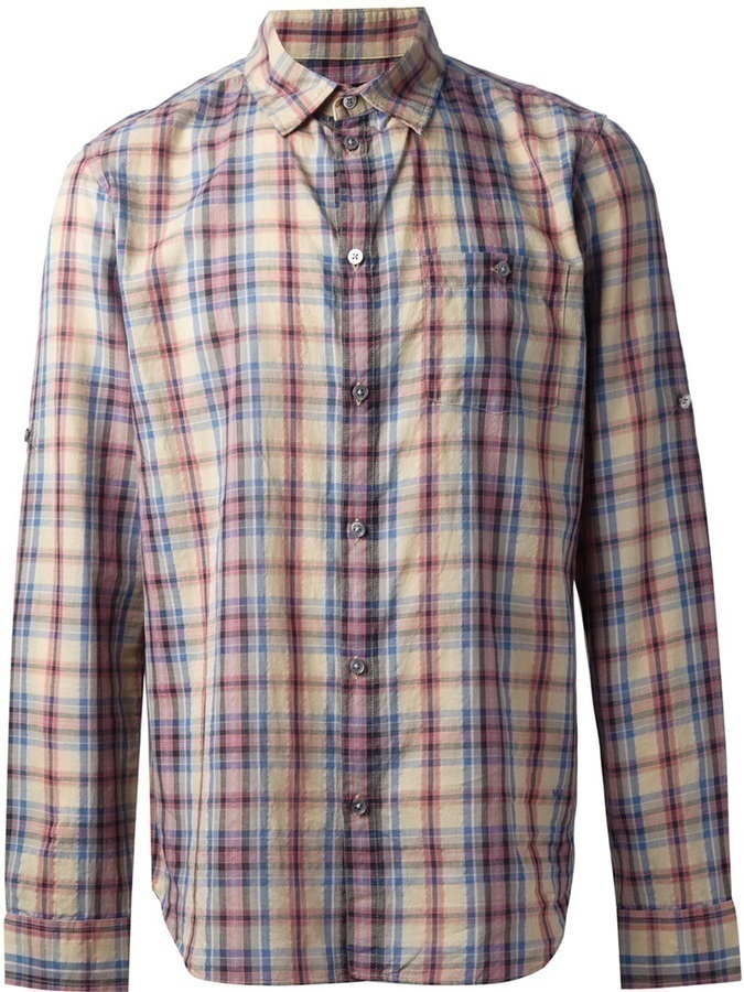 Marc by Marc Jacobs Plaid Shirt